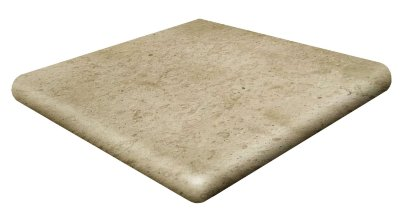 Gres de Aragon Ступень угловая Rounded Stair-tread Corner Beige 33x33