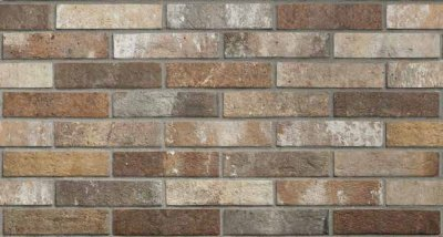 LONDON BRICK MULTICOLOR, Rondine group (керамогранит 6х25)