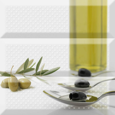 Absolut Keramika Composicion Olives Fluor 10x30 декор