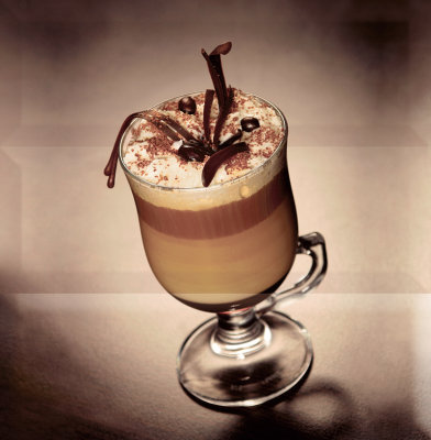 Absolut Keramika Composicion Coffee Capuccino Marron 30x30 декор