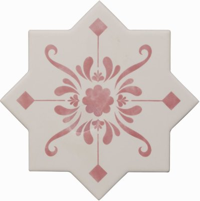 Cevica Becolors Star Dec. Stencil Coral 13.25х13.25 керамогранит
