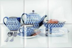 TEAPORT PICTURE 6 pz, Teaport AMADIS FINE TILES (настенный декор 30х45)