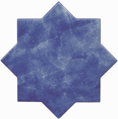 Cevica Becolors Star Electric Blue 13.25х13.25 керамогранит