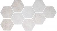 CIR керамогранит HEXAGON FREEPORT WHITE 24X27,7