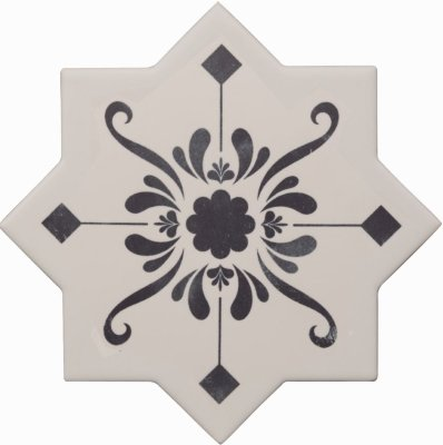 Cevica Becolors Star Dec. Stencil Navy 13.25х13.25 керамогранит