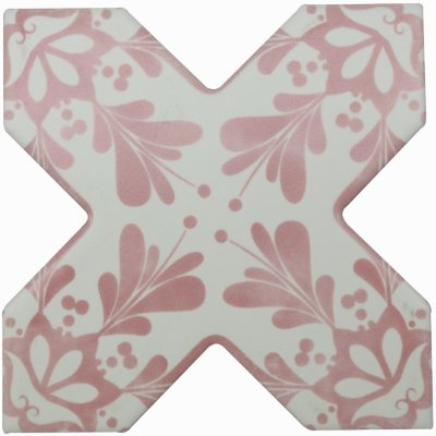 Cevica Becolors Cross Dec. Stencil Coral 13.25х13.25 керамогранит